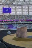 den 1st europén spelar 2015 Arkivbilder
