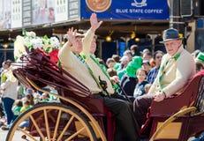 Den St Patrick dagen ståtar royaltyfri foto