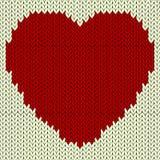 Den stack vektorn mönstrar med röd hjärta vektor illustrationer