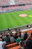 Den Stadio Giuseppe Meazza stadion i Milan, Italien Arkivfoto