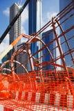 Den Stahl des Dubai-Metro-Notfall zusammen verriegeln Stockbild