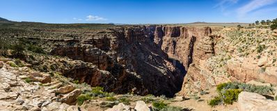 Den stam- Little Colorado River navajoen parkerar Royaltyfria Foton