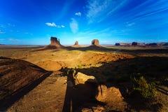 Den stam- monumentdalen parkerar, Arizona, USA Arkivfoton