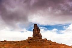 Den stam- monumentdalnavajoen parkerar, Utah, USA Arkivbild