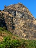 den steniga bergssidan fuktar Royaltyfria Foton