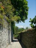 Den steniga gatan av min by Royaltyfri Bild