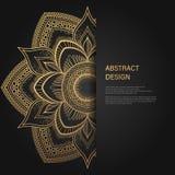 Den stilbroschyren och reklambladet för tappning planlägger den blom- mallen Idérika konstbeståndsdelar och prydnad, sidaorienter royaltyfri illustrationer