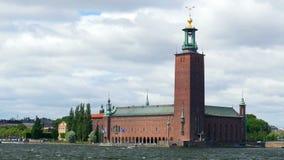 den stockholm stadshussikten, sweeden arkivfilmer