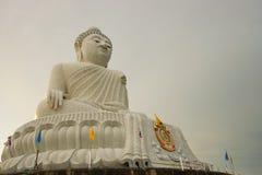 Den stora Buddha av Phuket Arkivfoto