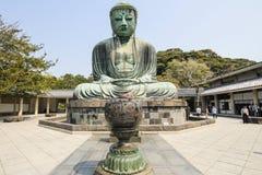 Den stora Buddha, Daibutsu, i Kamakura, Japan Royaltyfria Foton