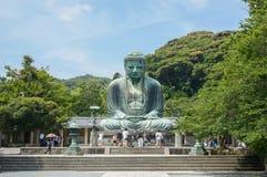 Den stora Buddha Daibutsu i Tokyo Fotografering för Bildbyråer