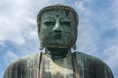 Den stora Buddha Daibutsu i Tokyo, Japan Royaltyfria Foton