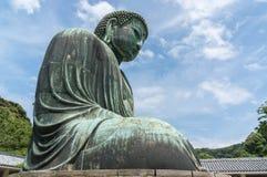 Den stora Buddha Daibutsu i Tokyo, Japan Royaltyfria Bilder