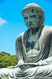 Den stora buddha daibutsuen i Kamakura, Japan arkivfoton