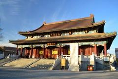 Den stora Buddha Hall Arkivbilder