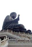 Den stora Buddha, på den Lantau ön, Hong Kong Fotografering för Bildbyråer