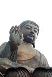 Den stora Buddha, på den Lantau ön, Hong Kong Arkivbild