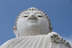 Den stora Buddhastatyn Royaltyfria Foton