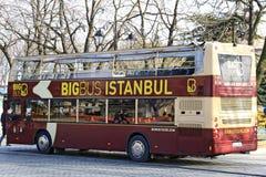 Den stora bussen turnerar bussen Royaltyfria Foton