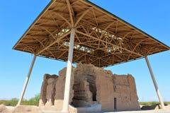 Den stora casaen fördärvar den nationella monumentet Arizona royaltyfri fotografi