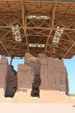 Den stora casaen fördärvar den nationella monumentet Arizona arkivfoto