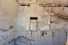 Den stora casaen fördärvar den nationella monumentet Arizona royaltyfri bild