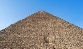 Den stora Cheops pyramiden i Kairo, Egypten arkivbilder