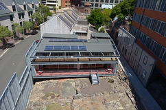 Den stora Dig Archaeology Education Centre The vaggar i Sydney Aus Royaltyfria Foton