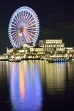 Den stora färjan rullar in Japan Royaltyfria Bilder