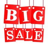 Den stora försäljningen shoppar nu cirkeln Royaltyfria Foton