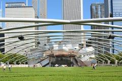 Den stora gräsmattamilleniet parkerar Arkivbilder