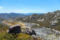 Den stora granitplatån, Mt Buffelnationalpark, Australien Royaltyfri Fotografi