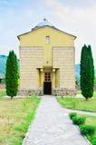 Den stora kloster för St Sisoes Arkivfoto