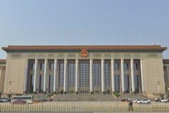 Den stora korridoren av folket i Peking, Kina Fotografering för Bildbyråer