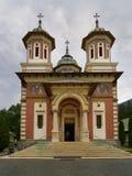 Den stora kyrkan, Sinaia kloster arkivfoto