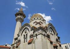 Den stora Mahmudiye moskén, Constanta, Rumänien Arkivbild