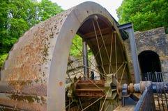 Den stora min vattenhjulet royaltyfri foto