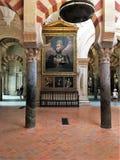 Den stora moskén, Cordoba Cordoba landskap Spanien Arkivbilder