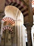 Den stora moskén, Cordoba Cordoba landskap Spanien Royaltyfria Bilder