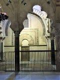 Den stora moskén, Cordoba Cordoba landskap Spanien Arkivbild
