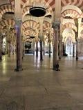 Den stora moskén, Cordoba Cordoba landskap Spanien Arkivfoto