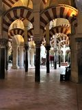 Den stora moskén, Cordoba Cordoba landskap Spanien Royaltyfri Bild
