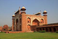 Den stora porten Arkivfoto