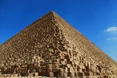 Den stora pyramiden av Giza Arkivbild