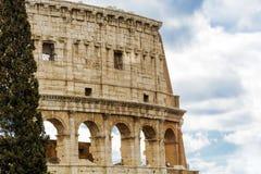 Den stora Roman Colosseum Coliseum, Colosseo i Rome Arkivbild