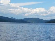 Den stora Sacandaga sjön Arkivbilder
