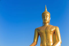 Den stora statyn av Buddha i Bangkok Thailand Royaltyfri Fotografi