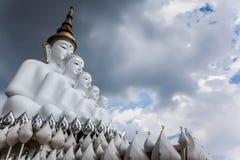 Den stora statyn av den stora Buddha i Thailand Fotografering för Bildbyråer