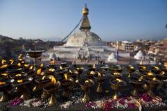 Den stora stupaen Royaltyfri Bild