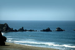 Den stora Suren i nordliga Kalifornien USA Arkivfoton